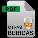 catalogo otras bebidas